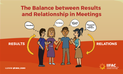 The Balance Between Results and Relationships in Meetings
