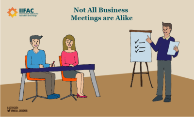 Not All Business Meetings are Alike